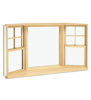 Wood bay bow replacement windows monmouth county nj for Wood replacement windows