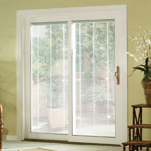 Charmant New And Replacement Window And Roofing Experts U003e Vinyl Sliding Patio Door  With Internal Blinds NJ U003e Patio Sliding Vinyl Door Blinds In Glass3