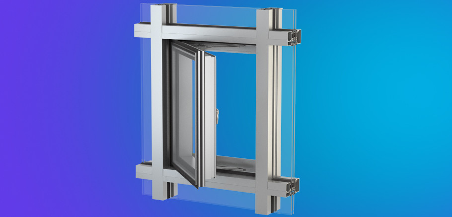 Yes Ssg Tu Vent Thermally Broken Vent Window For