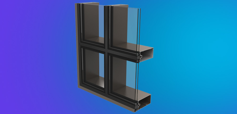 Ycw 750 Ssg Two And Four Side Silicone Glazed Curtain Wall